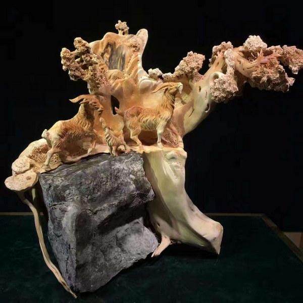 中国木雕艺术大师--魏武军
